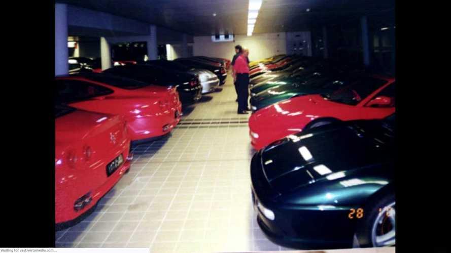La colección de coches del Sultán de Brunei
