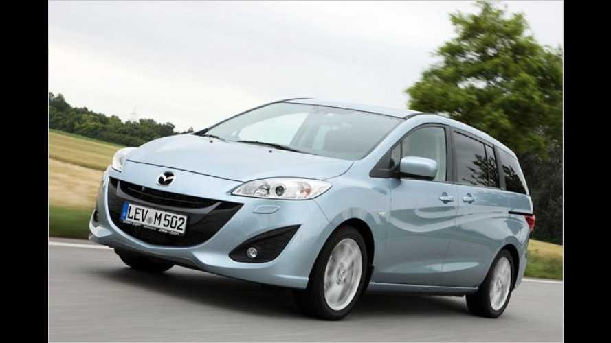 Mazda 5: Der Neue ist für unter 20.000 Euro zu haben