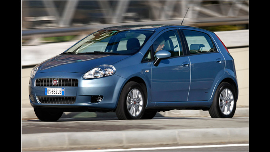 Klein-Sparer: Der Fiat Grande Punto Natural Power im Test