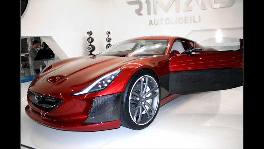 Elektro-Sportler: Rimac Concept One