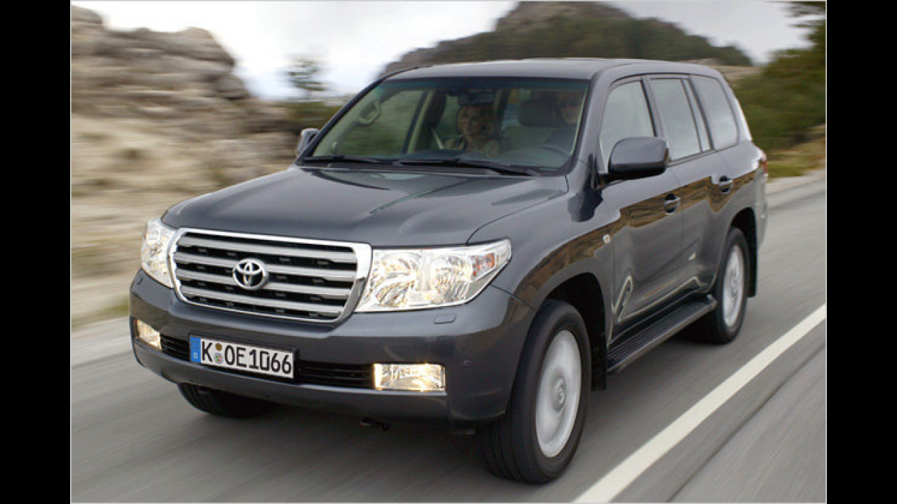 Toyota Land Cruiser V8 4.5 D-4D Executive Automatik