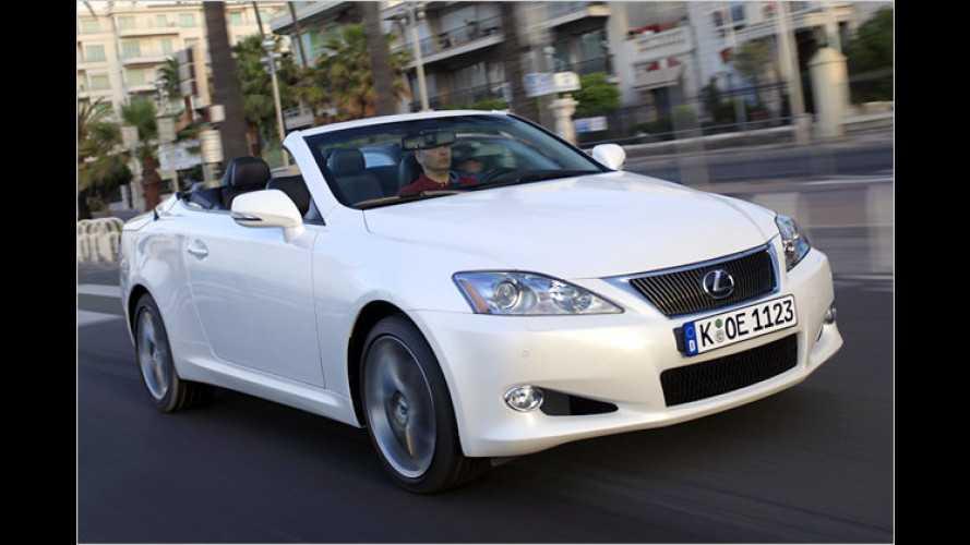 Das 20-Sekunden-Cabrio: Der neue Lexus IS 250C im Test