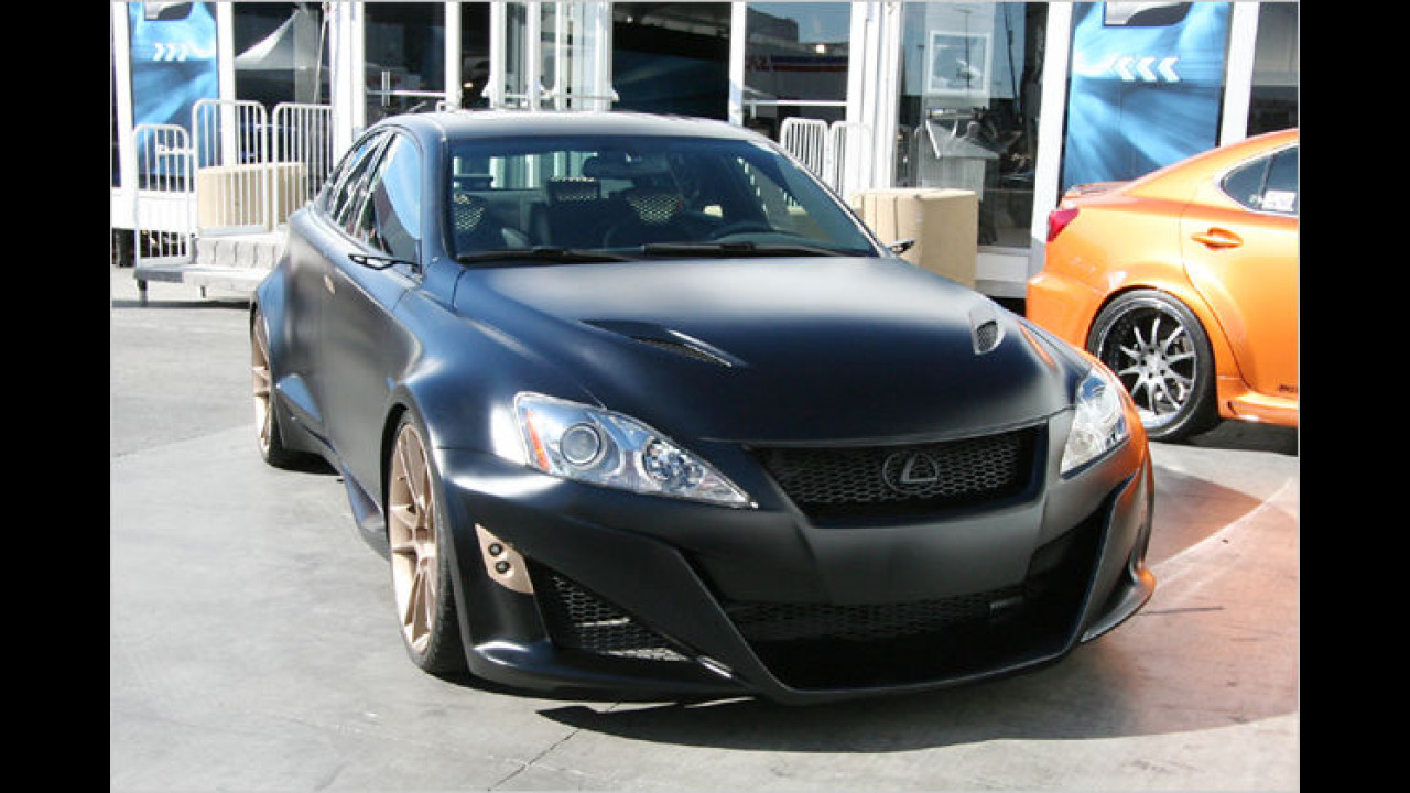 Lexus IS-F by Five Axis