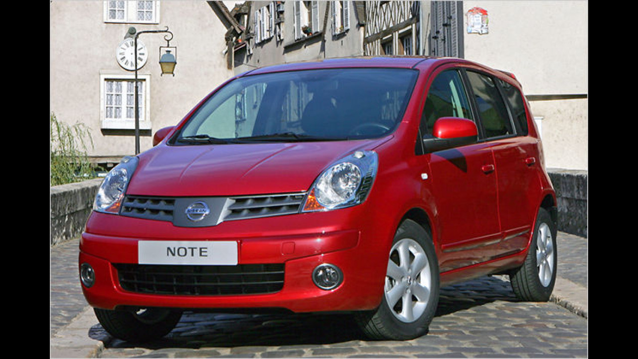 Nissan Note 1.5 dCi 70 visia