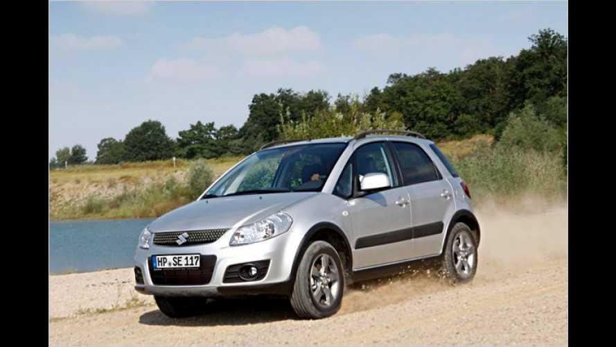 """Sondermodell ,Limited"""" für den Suzuki SX4"""