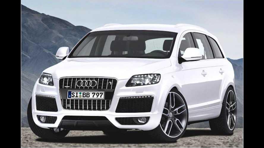 Mehr Druck im Audi Q7: B&B befeuert das SUV mit 595 PS