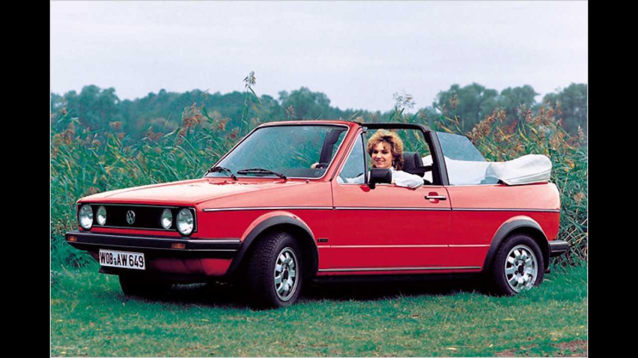 VW Golf I Cabrio: