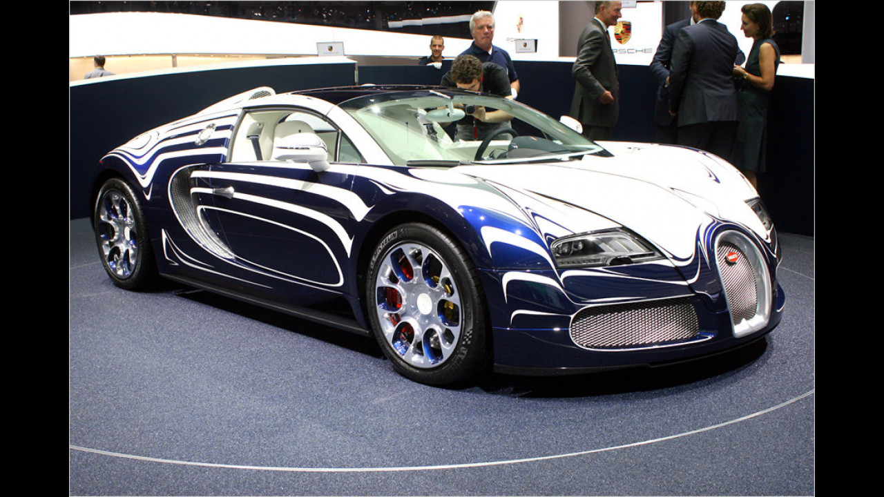 Bugatti Grand Sport ,L`Or Blanc