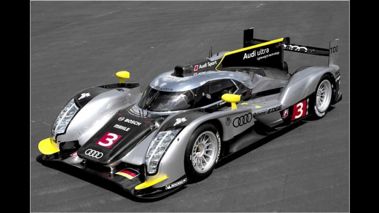 Flüster-Audi für Le Mans
