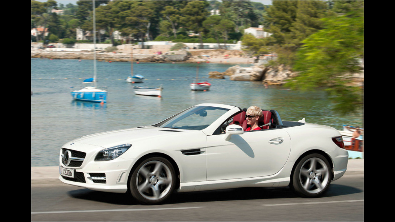 Sportwagen: Mercedes SLK 250 CDI BlueEfficiency 7G-Tronic Plus