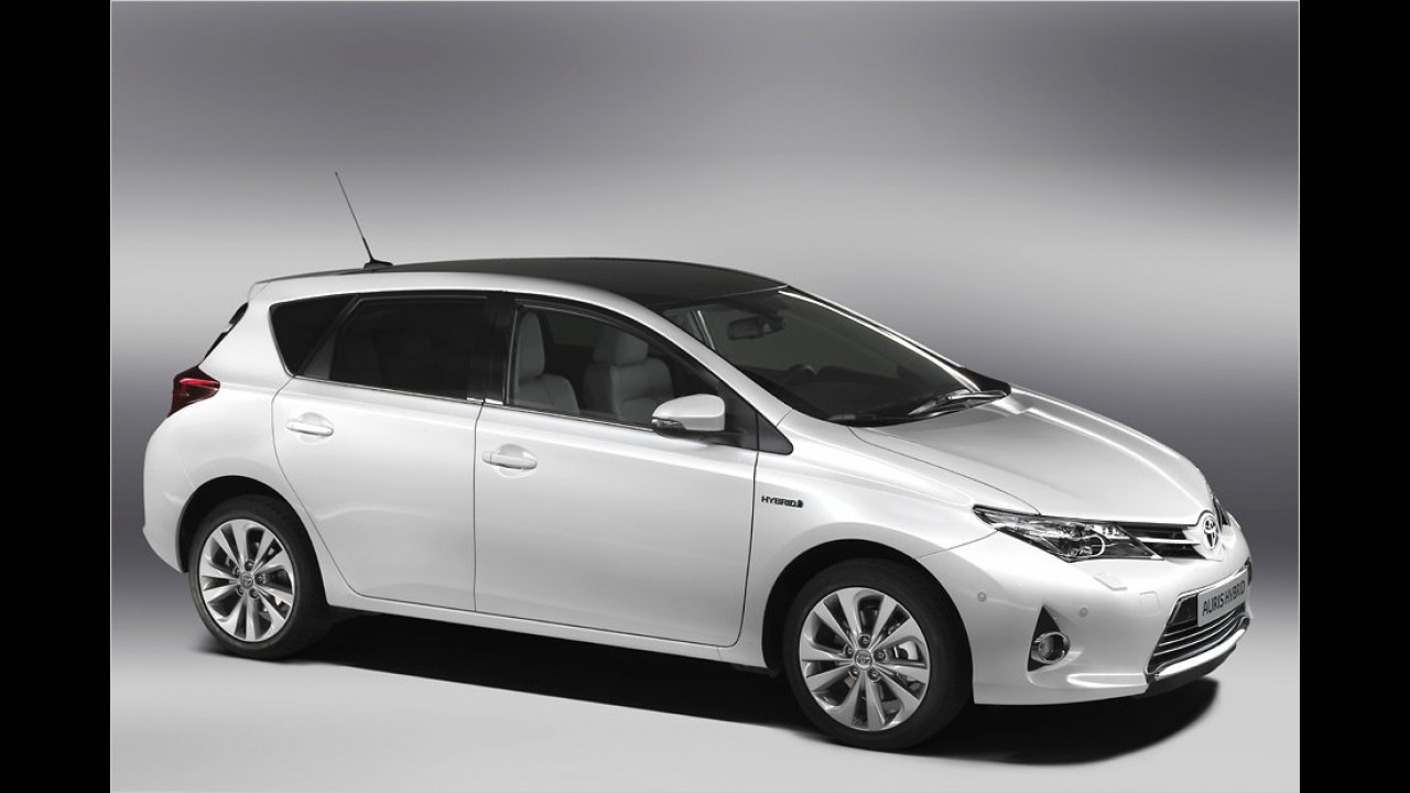Toyota Auris in Paris