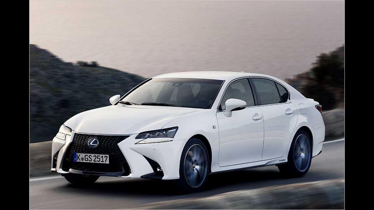 Lexus GS: 116 Neuzulassungen (Januar bis Juli 2016)