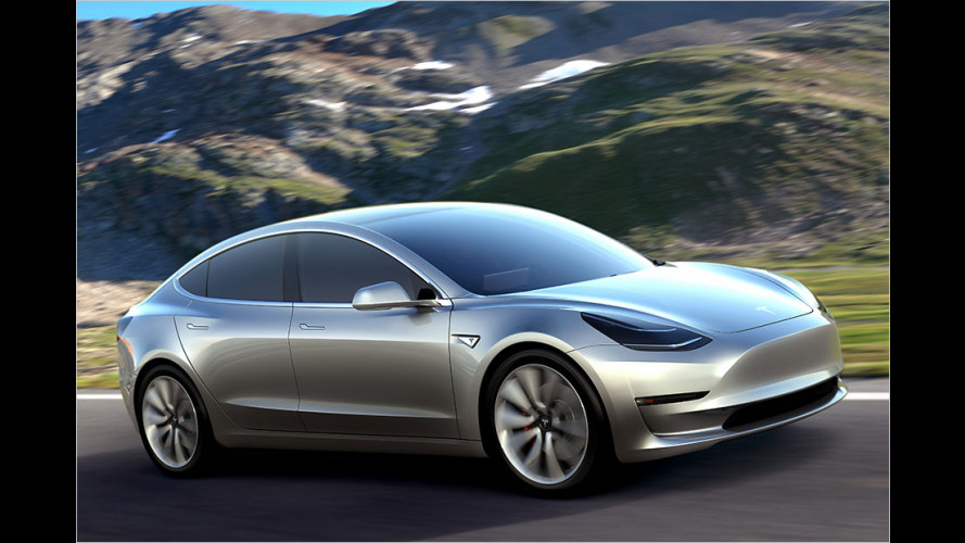 Tesla Model 3 vorgestellt (April 2016)