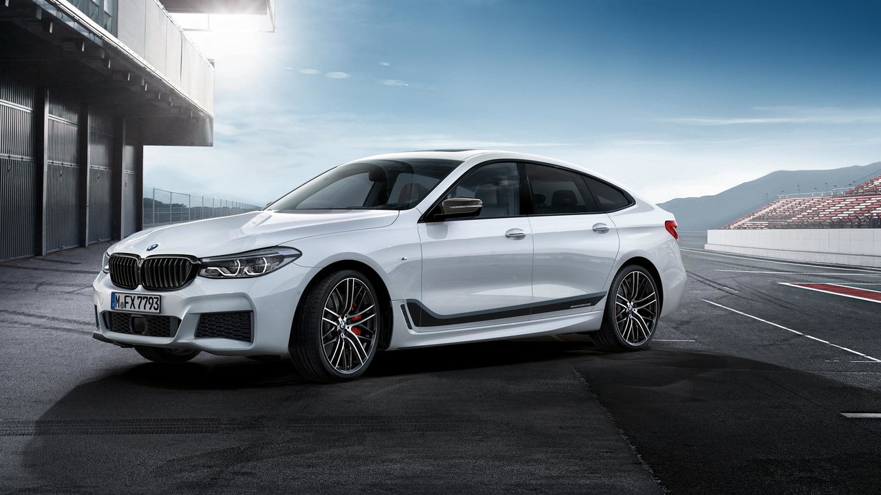 2018 Bmw 6 Series Gran Turismo With M Performance Parts Motor1 Com