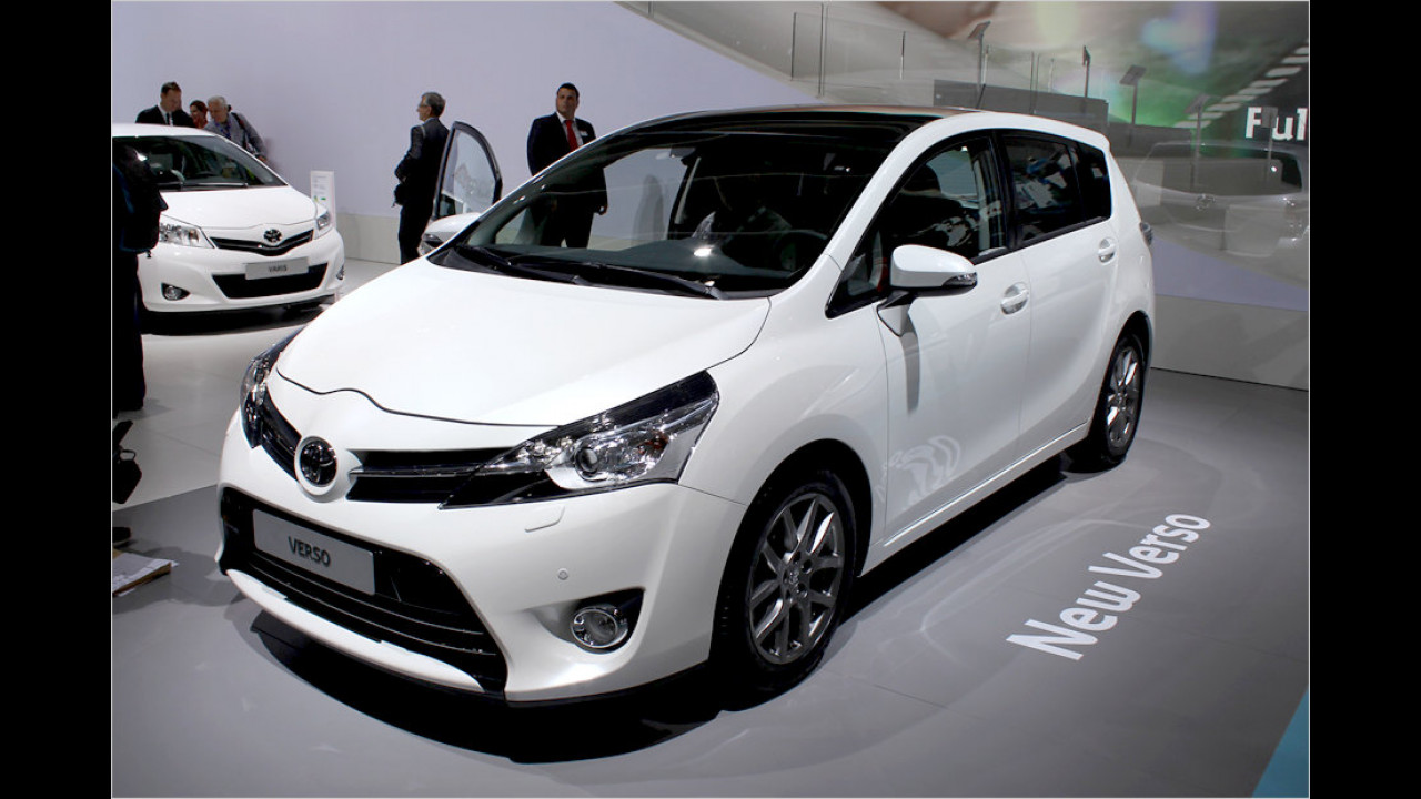 Toyota Verso Facelift