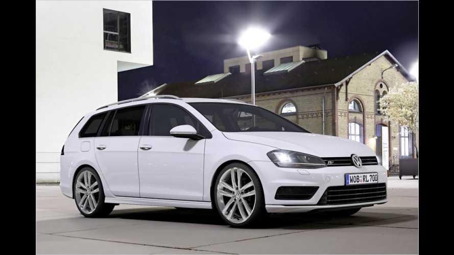 Sport-Optionen für VW Golf Variant und neuen Scirocco