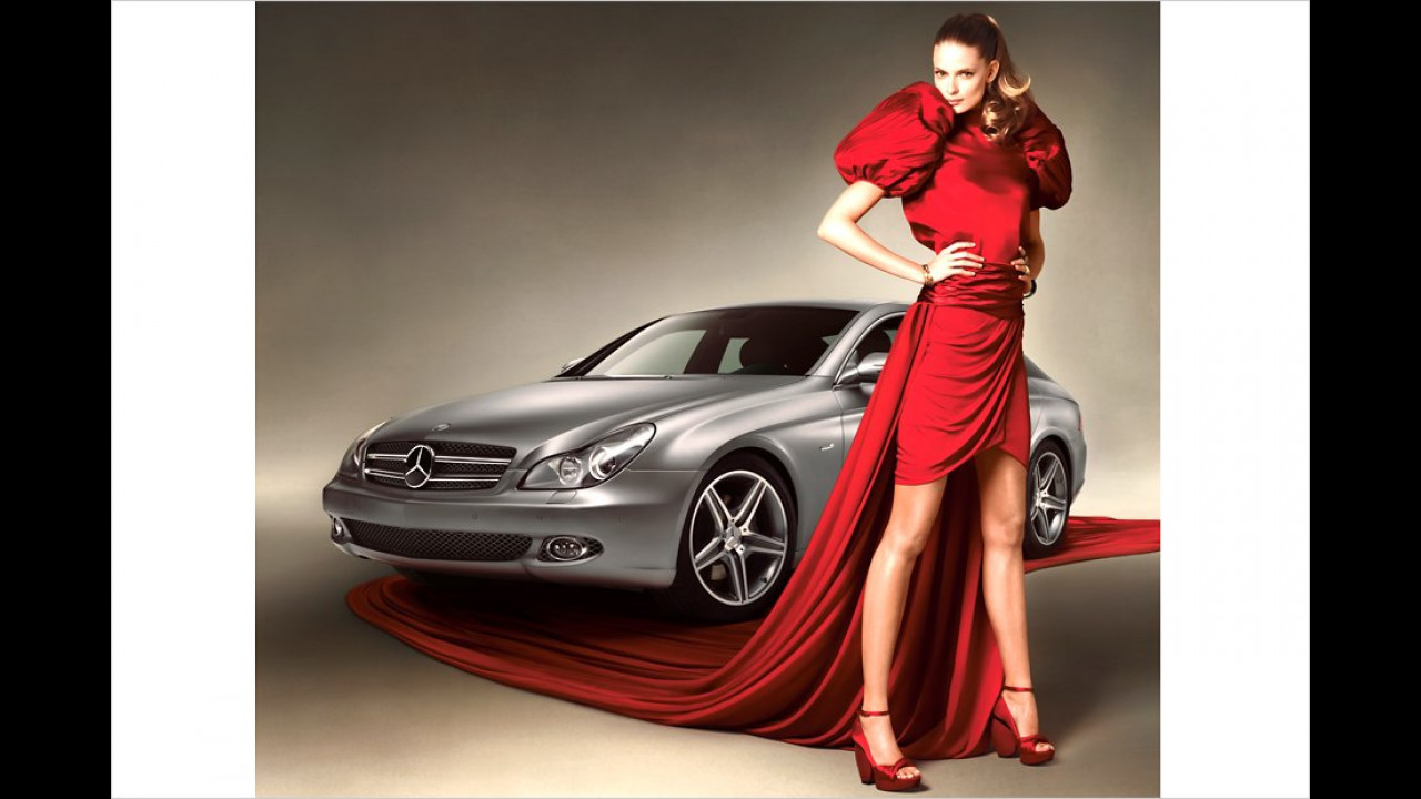 Julia Stegner: Mercedes CLS 350 CGI Grand Edition