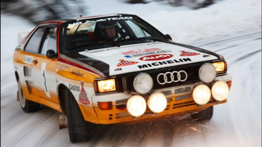 Audi Quattro, passione integrale