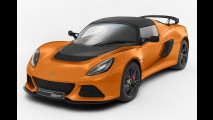 Lotus Exige S Club Racer, per 15 kg in meno