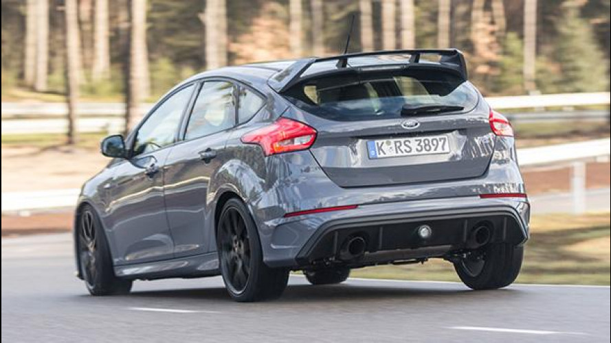 Ford Focus RS, inversione tecnica