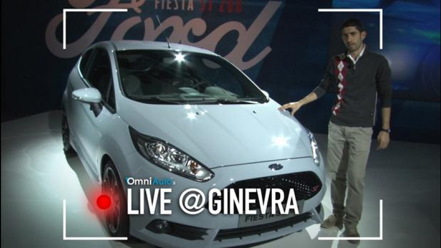 Salone di Ginevra, adrenalina pura con la Ford Fiesta ST200 [VIDEO]