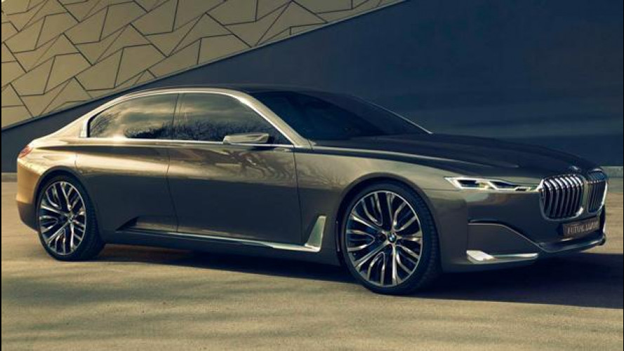 BMW Serie 9, super-coupé su base Rolls-Royce