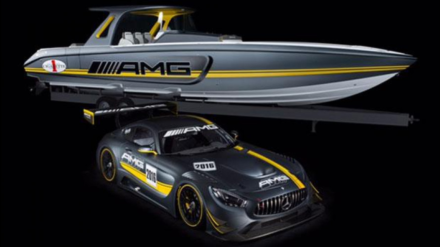Cigarette Racing Team 41' SD GT3, il motoscafo firmato AMG