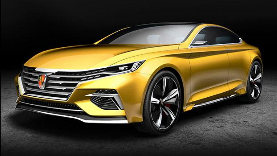 Roewe Vision-R Concept, cinese con stile