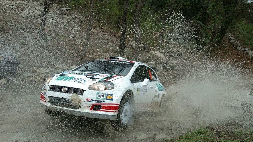 WRC running hard
