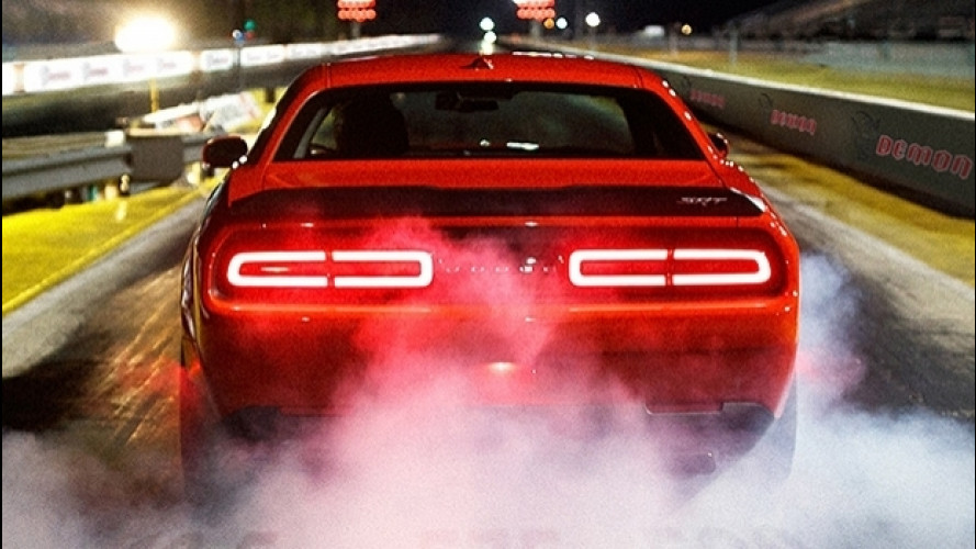 Dodge Challenger SRT Demon, un urlo infernale [VIDEO]