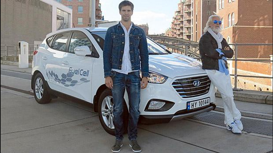 Hyundai ix35 Fuel Cell, 2.383 km in 24 ore