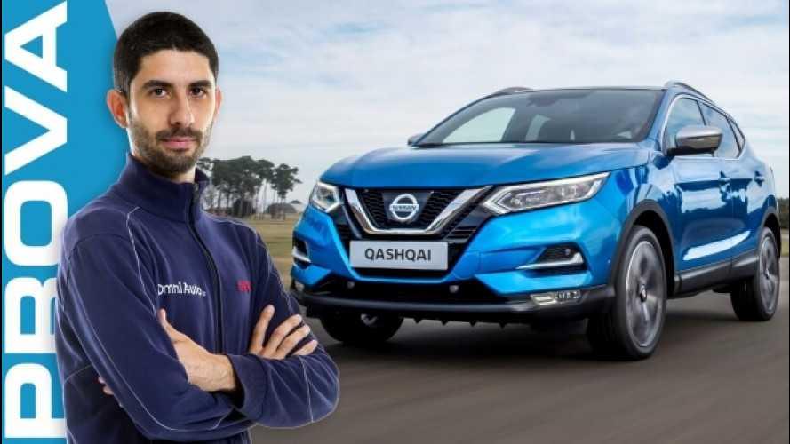 Nissan Qashqai restyling, affinamenti di stile e tecnologia [VIDEO]