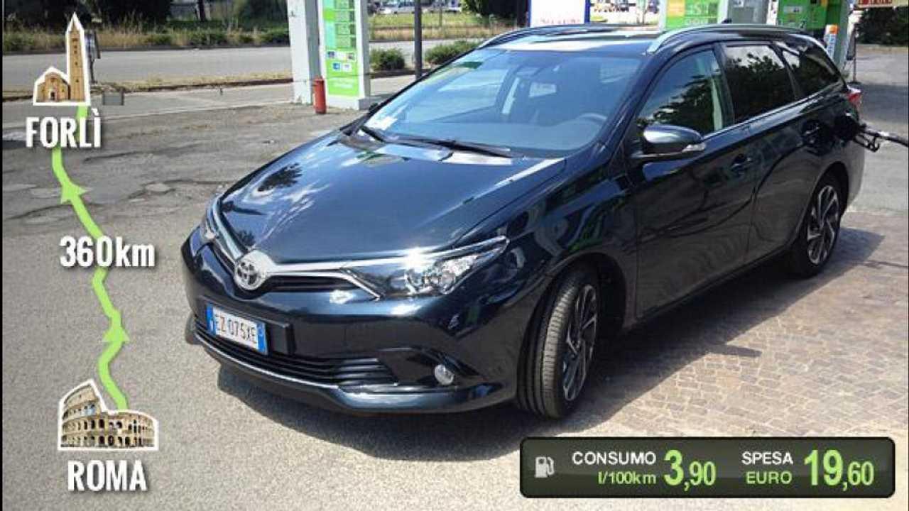 [Copertina] - Toyota Auris Touring Sports 1.6 D-4D, la prova dei consumi reali