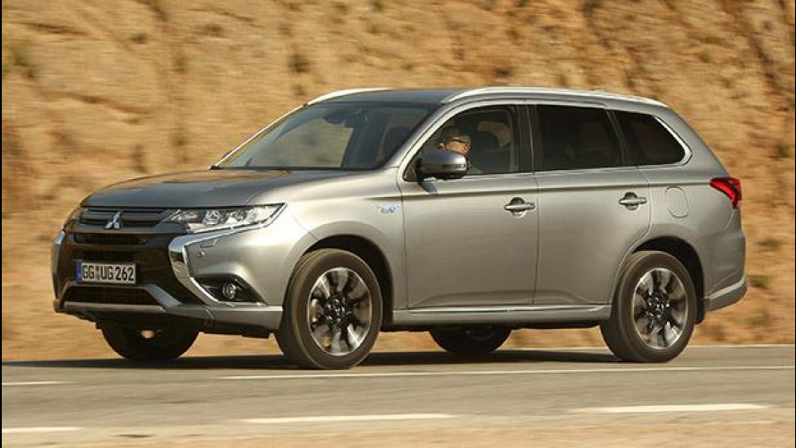 "Mitsubishi Outlander PHEV, l'ibrida plug-in ""diversa"""