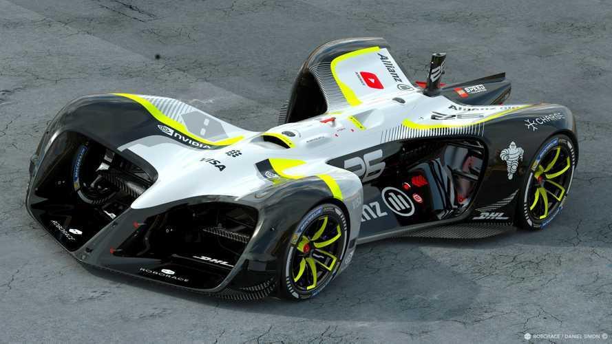 Roborace - Electrique, autonome... et à 300 km/h !