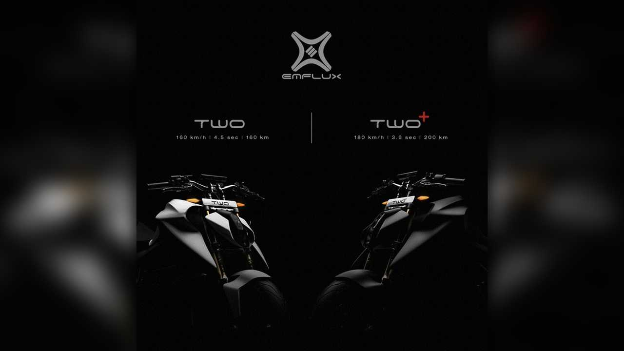 Emflux Introduces Two Electric Motorcycle