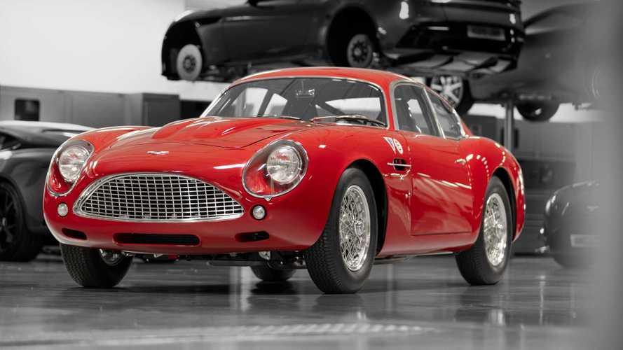 L'Aston Martin DB4 GT Zagato Continuation sera aux 24 Heures du Mans