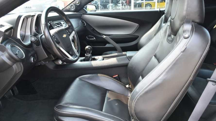 Live Like A Rocker Driving A Customized 2012 Chevrolet Camaro