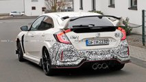 Honda Civic Type R Facelift Erlkönigbilder
