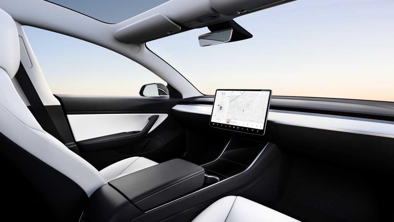 Tesla ohne Lenkrad (autonomes Fahren)