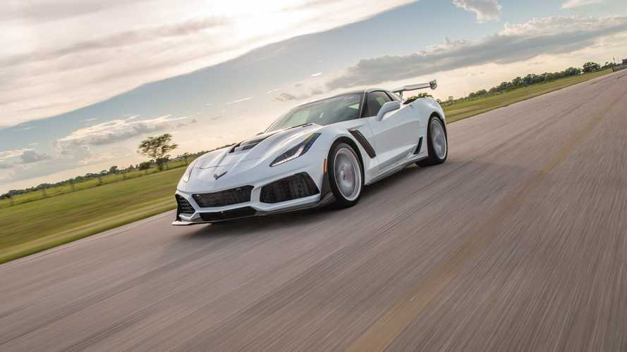 Chevy Corvette ZR1 HPE1200 by Hennessey