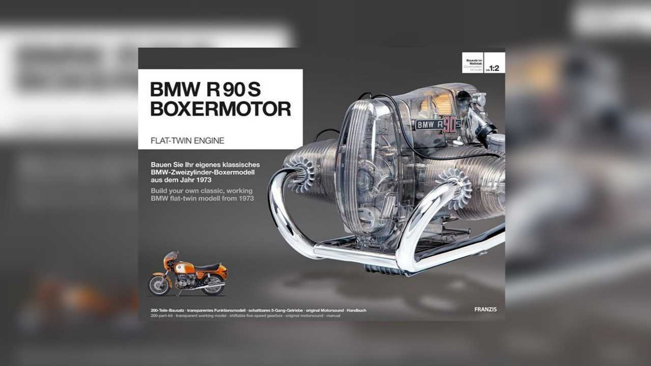 Assemble Your Own Bmw R90s Boxer Engine