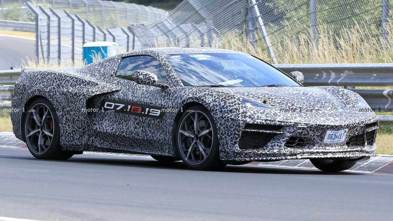 Mid-Engined Chevrolet Corvette C8 Spied Running Around The ...