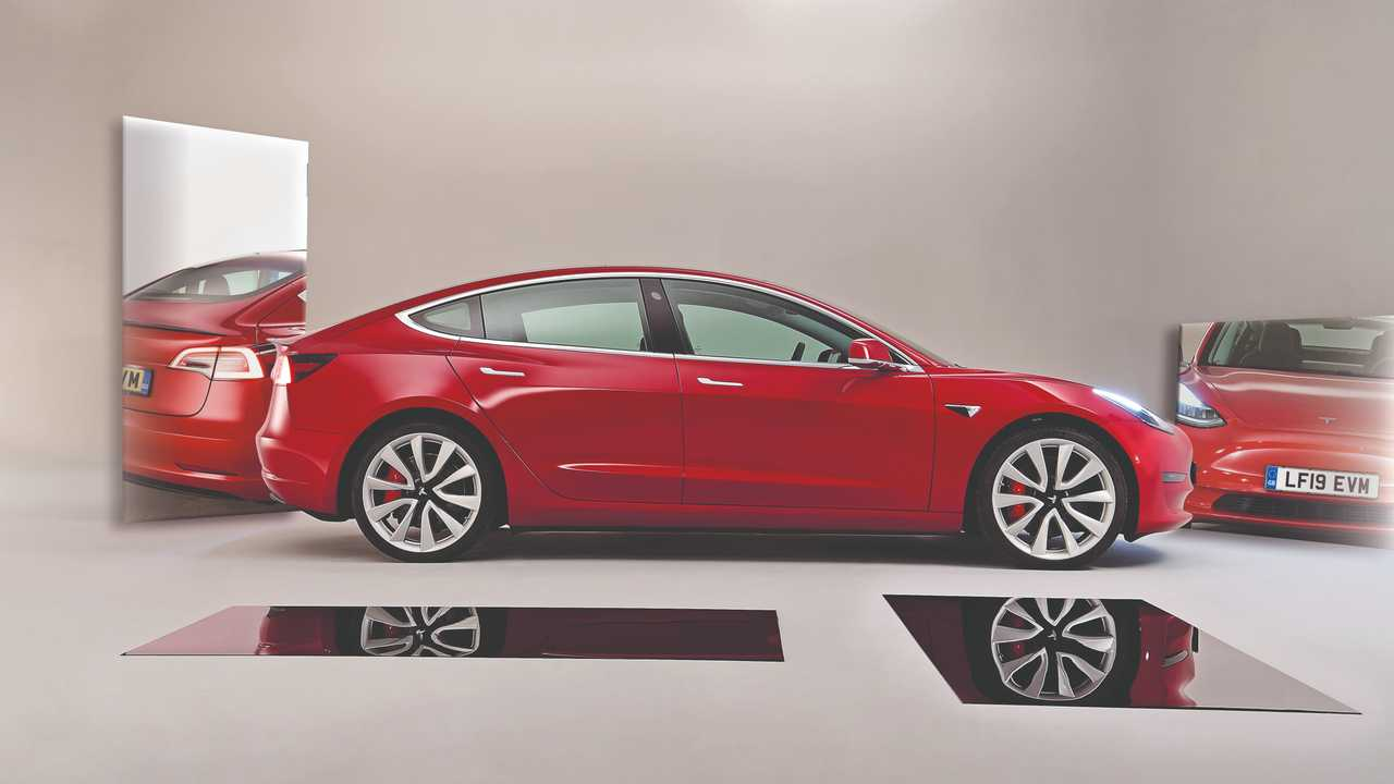 Tesla Model 3 Auto Express