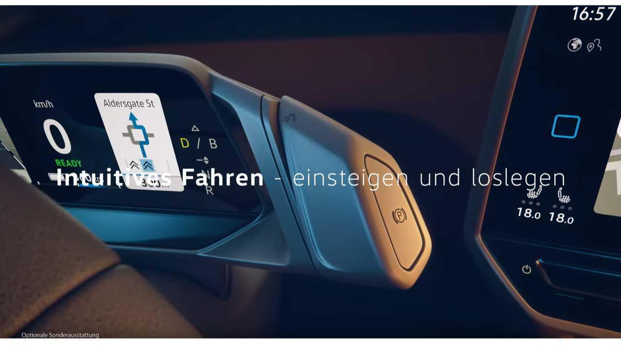 Volkswagen teases ID 3 dashboard