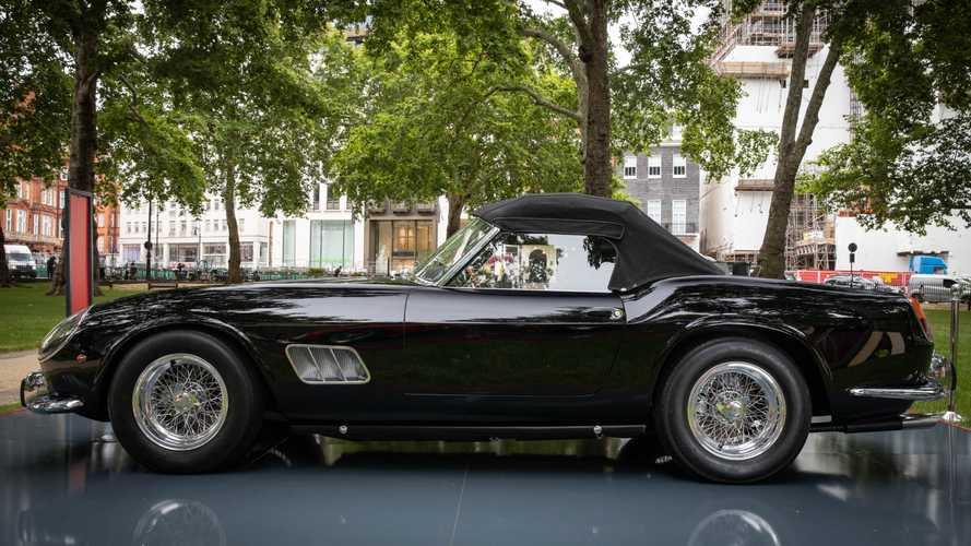 Ferrari hosts garden party gathering of rarities in London
