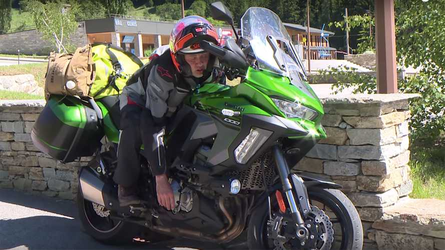 Watch This Guy Live In The Saddle Of A Versys For 96 Hours