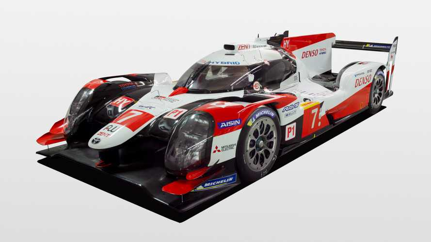 Toyota unveils revised LMP1 car for 2019/20 WEC season