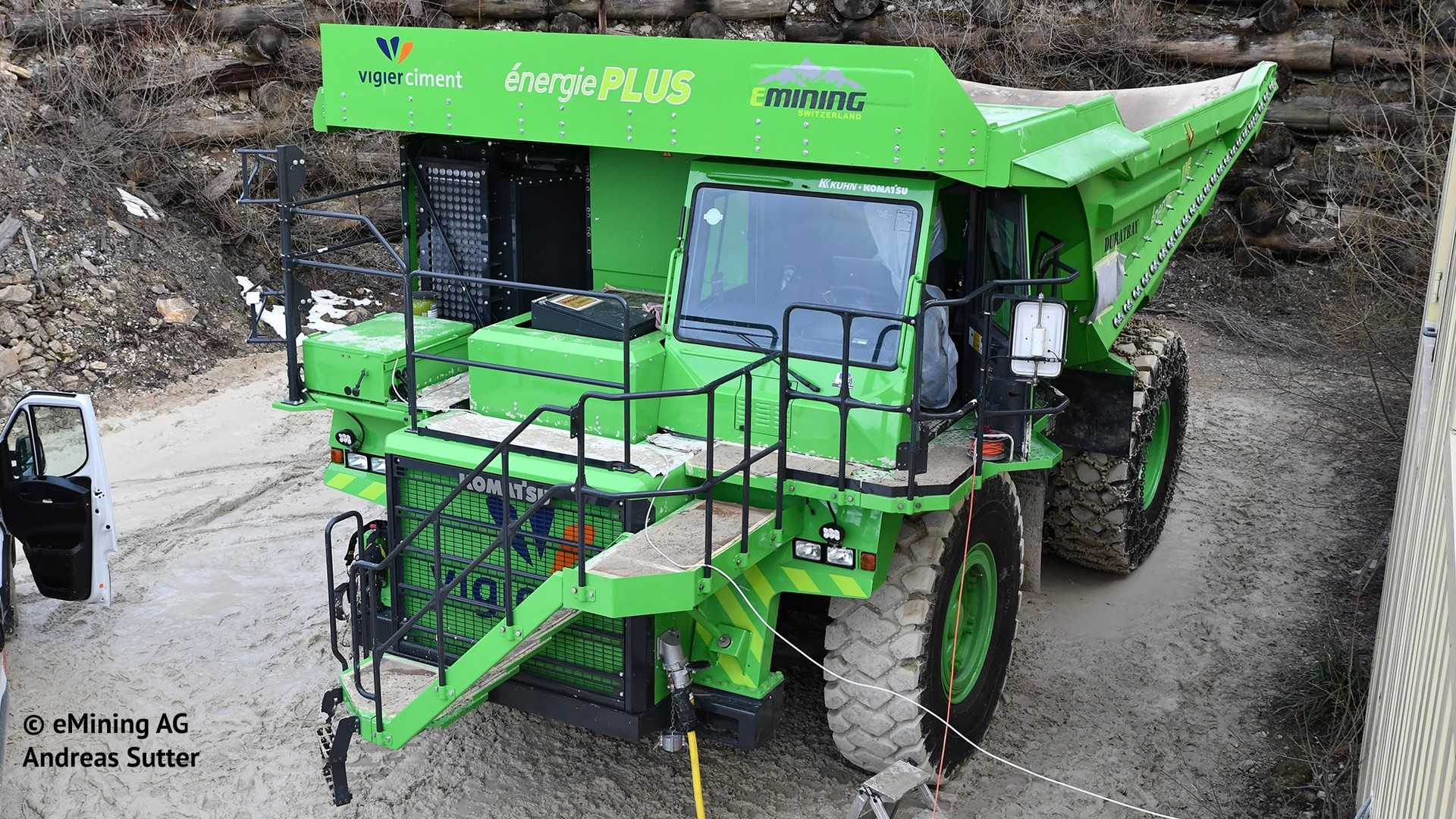 Meet The World's Largest EV: The Elektro Dumper