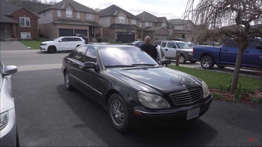 2002 Mercedes S-Class Bought For $750 Seems Like A Great Deal